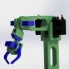 طراحی و مدلسازی بازوی رباتیک با سالیدورک