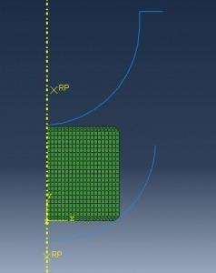 شبیه سازی فورجینگ فنجانی شکل با آباکوس