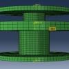 شبیه سازی پرچ کاری با آباکوس