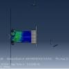 شبیه سازی تغییر شکل پلاستیک پروفیل آلومینیوم تحت بارگذاری محوری با آباکوس