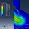شبیه سازی برخورد سرعت بالا به هدف سرامیکی با آباکوس