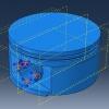 مدلسازی و تحلیل پیستون با آباکوس