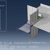 شبیه سازی کشش عمیق مربعی با آباکوس