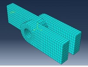 مدلسازی و تحلیل مفصل با آباکوس