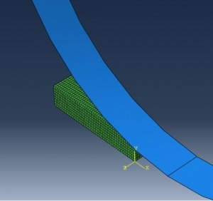 شبیه سازی نورد دو بعدی و سه بعدی با آباکوس