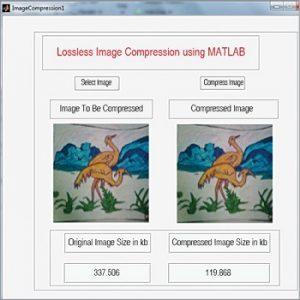 شبیه سازی فشرده سازی تصویر بدون افت کیفیت با متلب