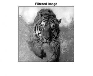 شبیه سازی فیلتر میانه با متلب
