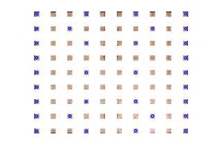 شبیه سازی تشخیص صفحه شطرنج با متلب