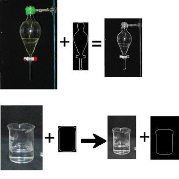 شبیه سازی تطبیق ابعاد تصویر با تصویر الگو با متلب