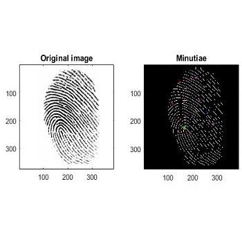شبیه سازی تشخیص اثر انگشت با متلب