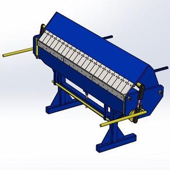 طراحی و مدلسازی دستگاه خم ورق با سالیدورک
