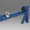 طراحی و مدلسازی گان چسب آکواریوم با سالیدورک