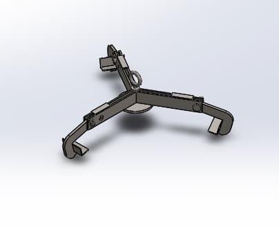 طراحی و مدلسازی گیره جابجایی و نگهدارنده بشکه با سالیدورک