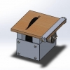 طراحی و مدلسازی اره دیسکی میزی با سالیدورک