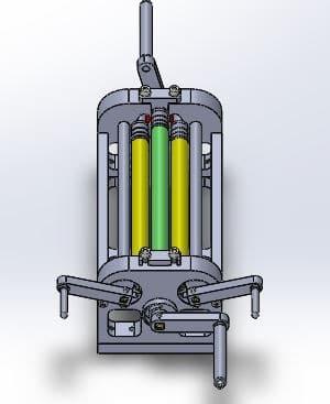 طراحی و مدلسازی دستگاه نورد ورق با سالیدورک