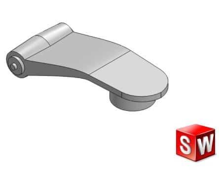 طراحی و مدلسازی شیکر ورزشی با سالیدورک