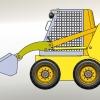 طراحی و مدلسازی لودر بابکت با سالیدورک
