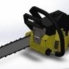 طراحی و مدلسازی اره برقی با سالیدورک