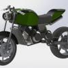طراحی و مدلسازی موتور سیکلت با سالیدورک