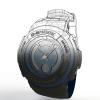 طراحی و مدلسازی ساعت مچی با سالیدورک