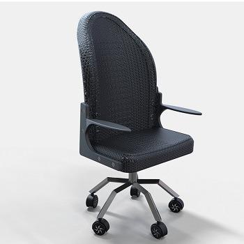 طراحی و مدلسازی صندلی اداری با سالیدورک