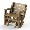 طراحی و مدلسازی میز صندلی تاشو با سالیدورک