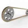 طراحی و مدلسازی چرخ و زنجیر با سالیدورک