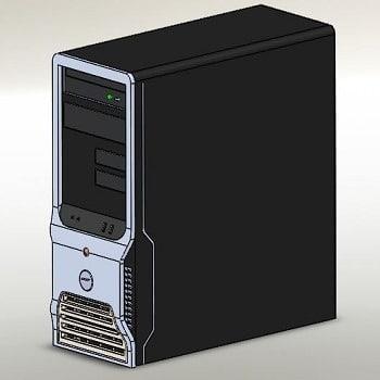 طراحی و مدلسازی کیس کامپیوتر با سالیدورک