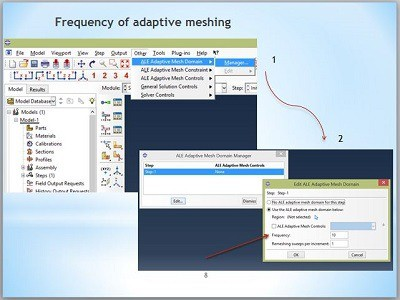 پاورپوینت آماده مش بندی تطبیقی adaptive meshing