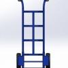 طراحی و مدلسازی چرخ دستی حمل بار با سالیدورک