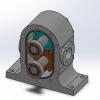 طراحی و مدلسازی پمپ هیدرولیک با سالیدورک