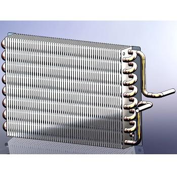 طراحی و مدلسازی رادیاتور با سالیدورک