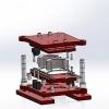 طراحی و مدلسازی قالب برش با سالیدورک
