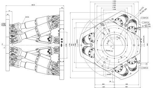 طراحی و مدلسازی ربات هگزاپاد با سالیدورک