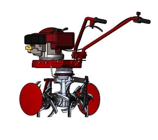 طراحی و مدلسازی ماشین شخم زنی با سالیدورک
