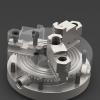 طراحی و مدلسازی سه نظام تراش با سالیدورک