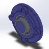 طراحی و مدلسازی انواع یاتاقان با سالیدورک