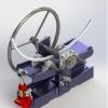 طراحی و مدلسازی خم کن دستی با سالیدورک