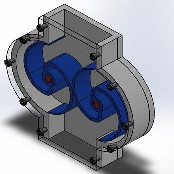 طراحی و مدلسازی مکانیزم کنتور آب با سالیدورک