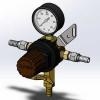 طراحی و مدلسازی رگلاتور با سالیدورک
