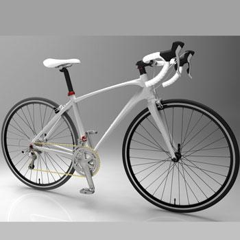 طراحی و مدلسازی دوچرخه مسابقه با سالیدورک