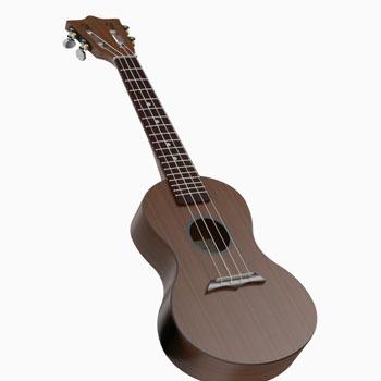 طراحی و مدلسازی گیتار با سالیدورک