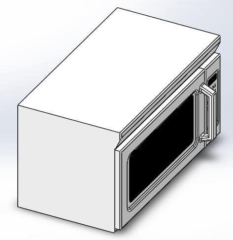 طراحی و مدلسازی مایکروویو با سالیدورک