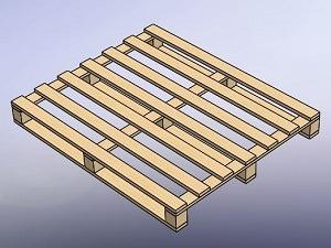 طراحی و مدلسازی پالت با سالیدورک