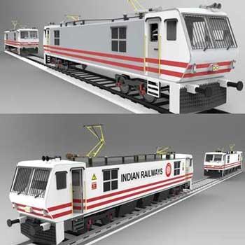 طراحی و مدلسازی قطار برقی با سالیدورک