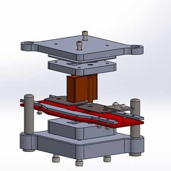 طراحی و مدلسازی قالب پانچ با سالیدورک