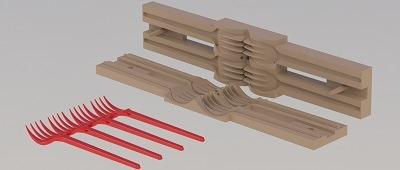 طراحی و مدلسازی قالب تزریق پلاستیک با سالیدورک