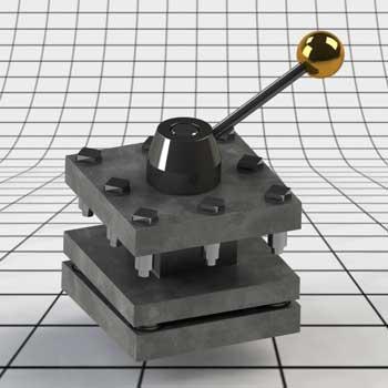 طراحی و مدلسازی ابزارگیر تراش با سالیدورک