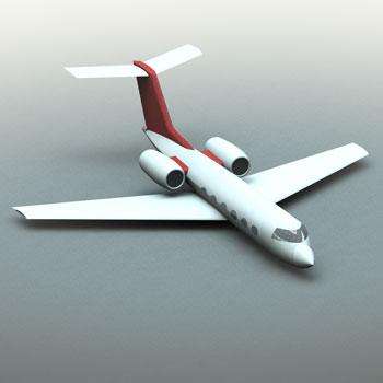 طراحی و مدلسازی جت شخصی با سالیدورک
