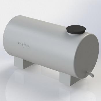 طراحی و مدلسازی مخزن پلاستیکی با سالیدورک